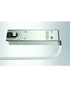 Geze Transom Mounted Overhead Closer EMHO Size 3-6 - Satin Stainless Steel