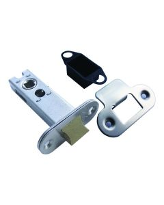 Orbis Tubular Mortice Latch CE 75mm Satin Stainless Steel