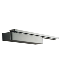 31.921.30.1.SIL Door Closer Cam Action Size 2-4 Pull Side Transom Mount / Push Side Door Mount Silver Finish Max Door Weight 80kgs / 1100mm Door Width CE Marked Radius Cover
