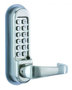 Orbis Mechanical Lock OAD Passage Function PVD Satin Stainless Steel