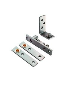 Orbis Double Action Pivot Set Square End - Satin Stainless Steel