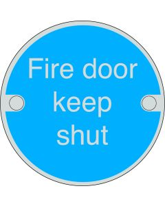Orbis Fire Door Keep Shut Sign