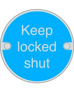 Orbis Keep Locked Shut Sign Fix - Screw Fixed
