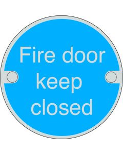 Orbis Fire Door Keep Closed Sign