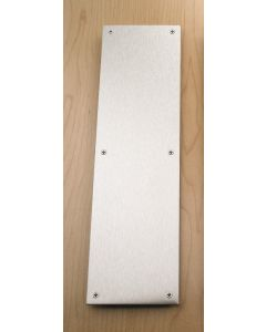 820X150X1.2mm.SSS Kick Plate Square Corners Grade 304 SSS