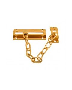 """8610.PB Door Safety Chain Polished Brass 3 3/8"""" Polished Brass"""