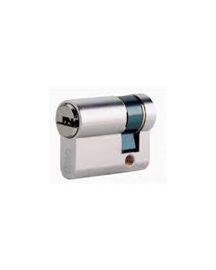 8A09.NP Iseo 8A09 Nickel Plate Single Euro Cylinder 45mm Anti-Drill Pin c/w 3 Keys R50 Patented