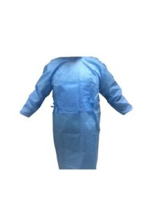 Disposable Safety Apron SMS Non Woven 185cm Size XXXL Blue (1 Piece) CE Marked China Medical Standard