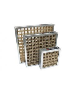 Intumescent Grille 300mm x 300mm Silver