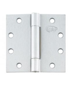 "BB2200 Concealed Bearing Hinges 4.5"" X 4.5"" (Pack Of 3) Polished Chrome Finish"