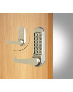 CL500.SSS Codelock Digital Lock Front & Backplates Only Satin Stainless Steel