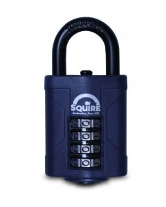 Squire Heavy Duty Combi Padlock 40mm Body Short Shackle