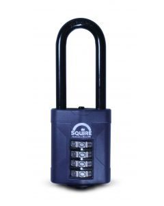 Squire Heavy Duty Combi Padlock 50mm Body Long Shackle