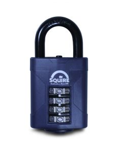 Squire Heavy Duty Combi Padlock 50mm Body Short Shackle
