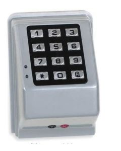 Alarm Lock Trilogy DK3000 Series Weatherproof 12V/24V Digital Access Keypad, 2000 Users, Audit Trail, Two 10A Relay Outputs