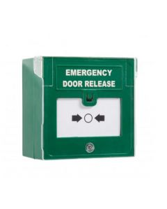 EDR-1 Emergency Door Release Green Single Pole 12-24vdc