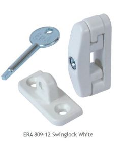 ERA 809-12 Visi Pack Swinglock White