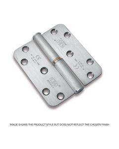 Lift OFF Hinge 100mm x 88mm R/H Square Corners SSS Up To 80Kgs Doors
