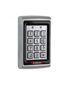 KPX1000 Internal / External Keypad Uses EM Cards Or Fobs 12vdc Selectable Backlit Feature Silver Finish
