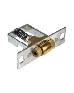 Legge B1511PB Adjustable Roller Catch Polished Brass Case Size 51mm x 35mm Faceplate Size 76mm x 22mm