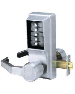SIMPLEX L1000 Combination Entry Only  Left Hand - Satin Chrome