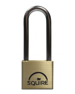 Squire Brass Padlock 39.5mm  Body Extended Shackle