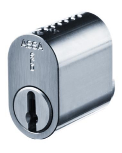 Assa Ruko R502.SCP Scandinavian 5-Pin Oval Double Cylinder (Inner + Outer) To Differ SCP Finish