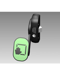 PH352 Black Reversible Single Point Push Pad Exit Latch,Only Suitable For Fire Exits Where Occupants Are Familiar With The Exit Procedures