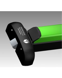 PHT500.Black/Green Touch Bar Latch, for doors upto 860mm Wide (1170mm & 1300mm sizes available on request) Supplied With Dogging Device Which Can Be Removed When Requested As Dogging Device Not To Be Used On Fire/Smoke Door Assemblies