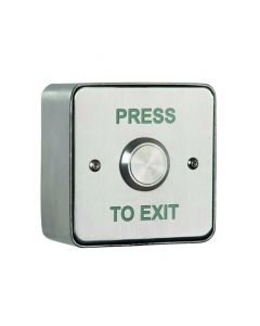 Orbis Stainless Steel Release Button - Square