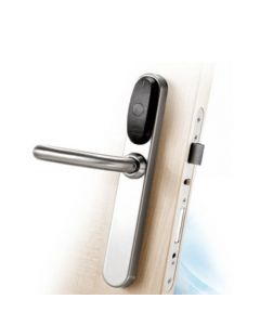 Salto XS4 EU Electronic Lock c/w Privacy Function Satin Stainless Steel