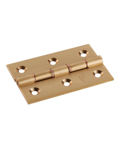 Butt Hinge Double Phophor Bronze Washer 76mmx 50mm Square Corner PB (1 Pair)