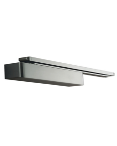 Door Closer Cam Action Size 2-4 Pull Side (Transom Mounted) / 2-4 Push Side (Door Mounted) SSS Finish Radius Cover Max Door Weight 80Kgs / 1100mm Door Width