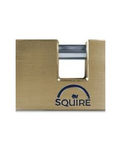 Squire Warehouse Block Brass Padlock 70mm Body